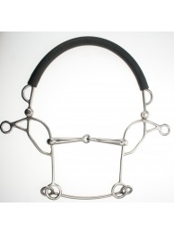 Abbey Combination Hackamore - Jointed Mouth